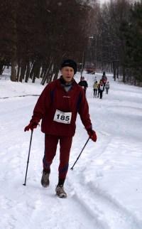 Edward Kurek - uczestnik 5 Rajdów Nordic Walking